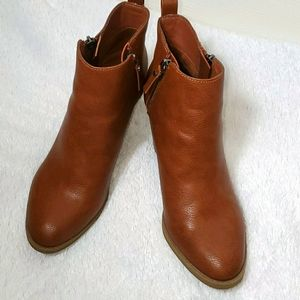 Universal Thread Faux Leather Booties
